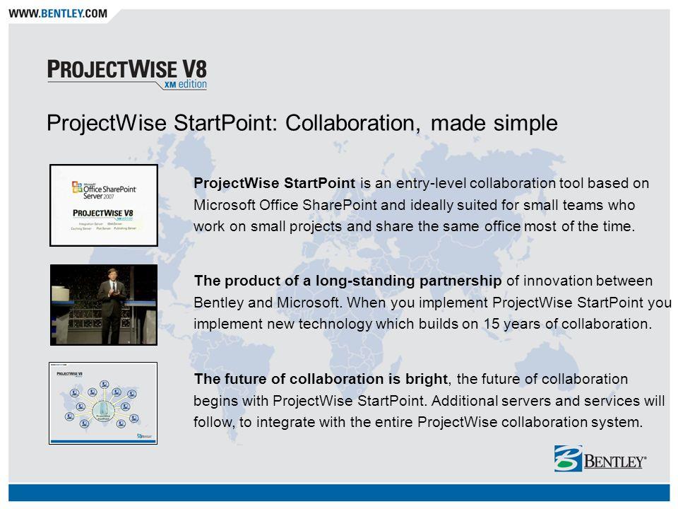 bentley projectwise startpoint