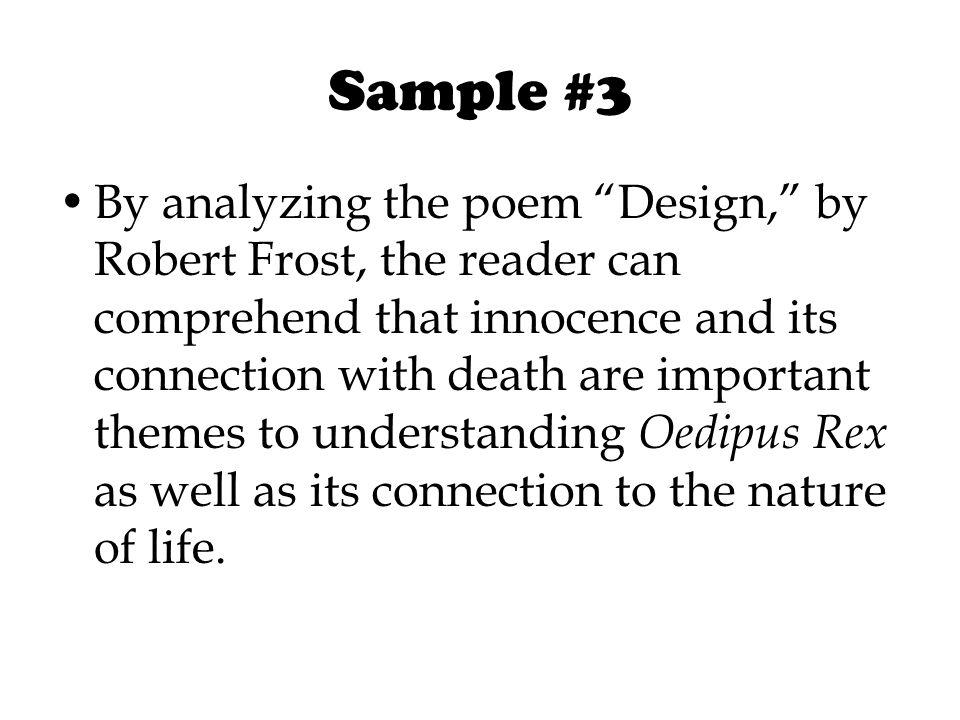 robert frost death theme