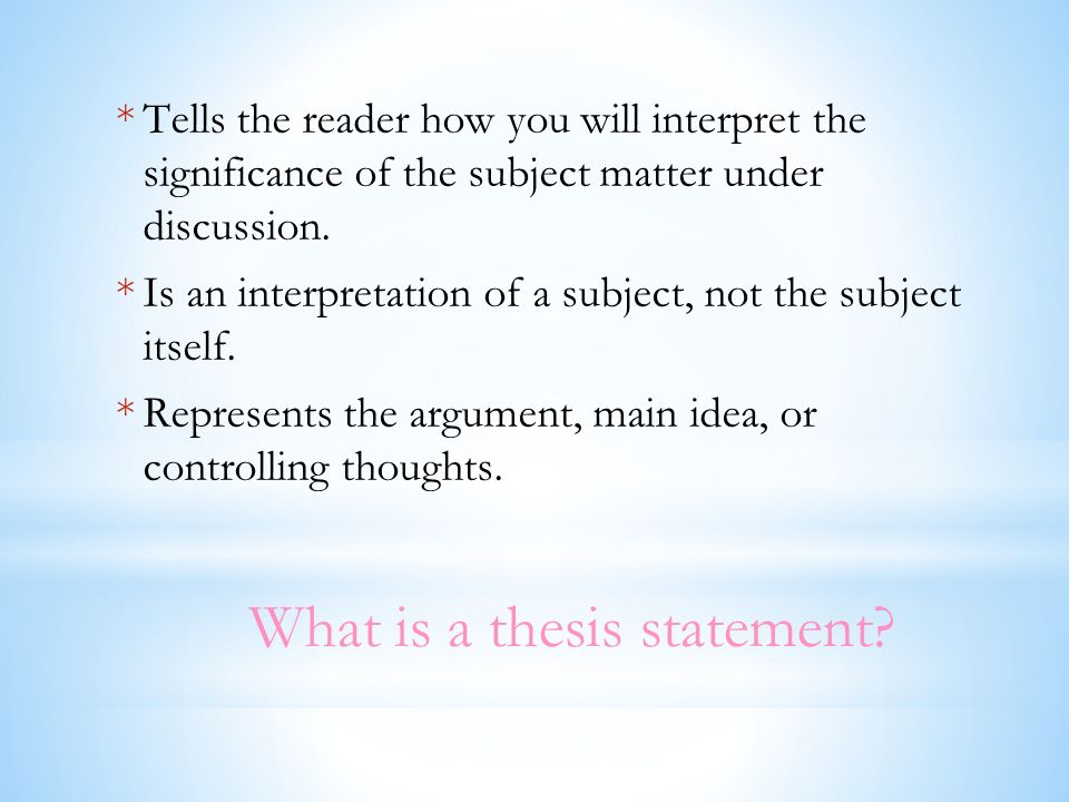 dr mengele thesis statement