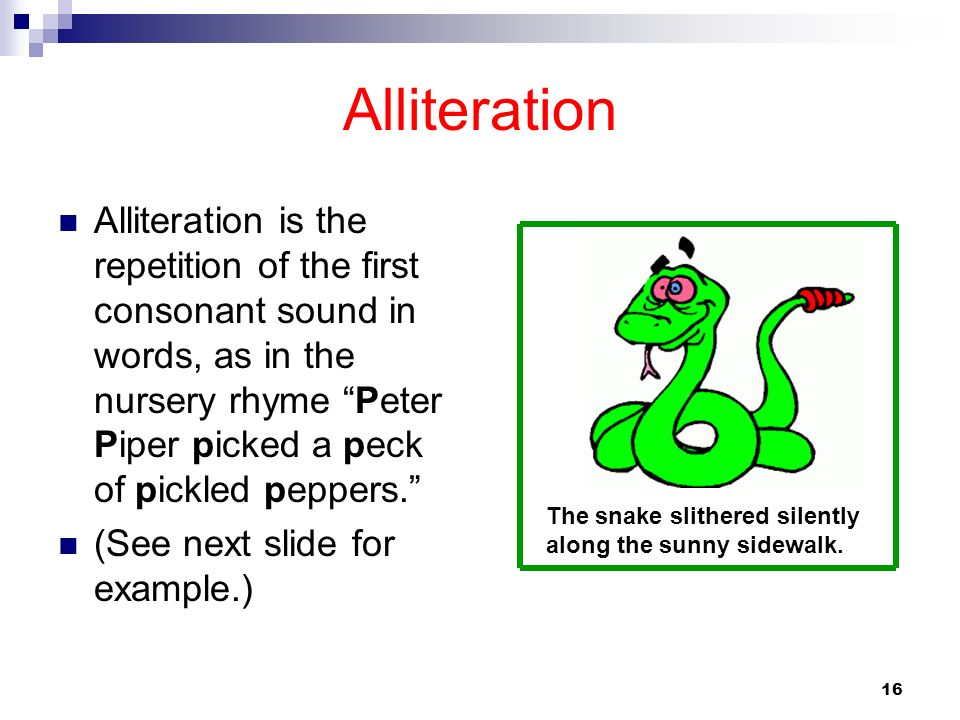Alliteration Examples For Kids Kids