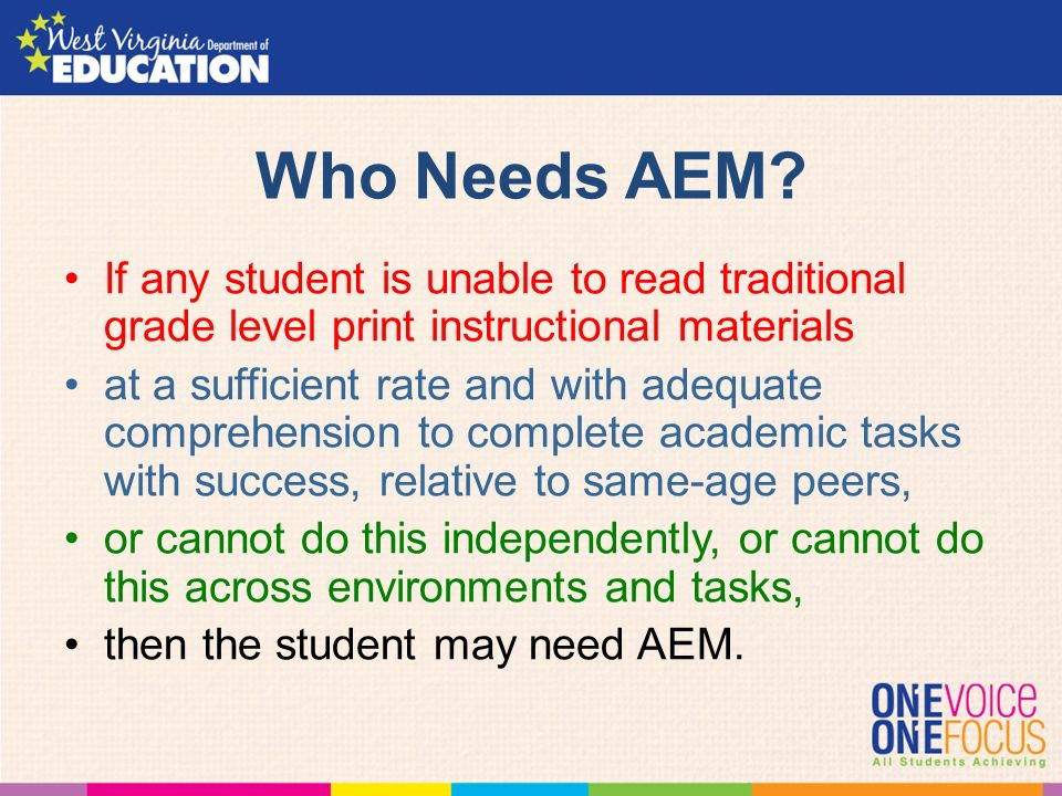 Accessible Educational Materials Aem Aka Accessible Instructional