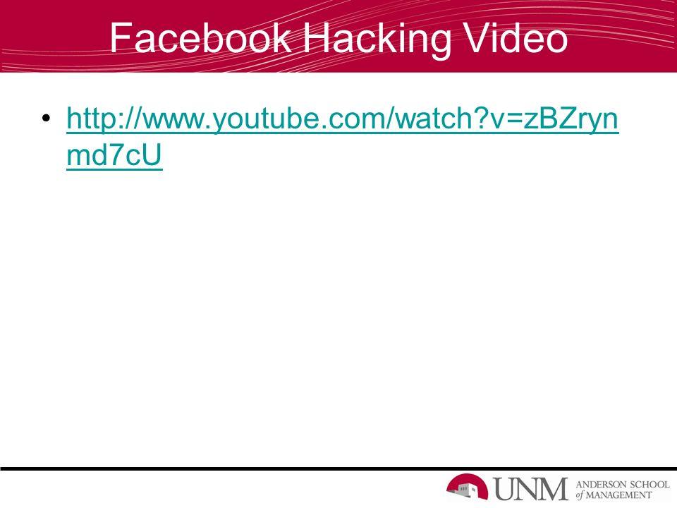 Internet and Social Media Security  Outline Statistics Facebook