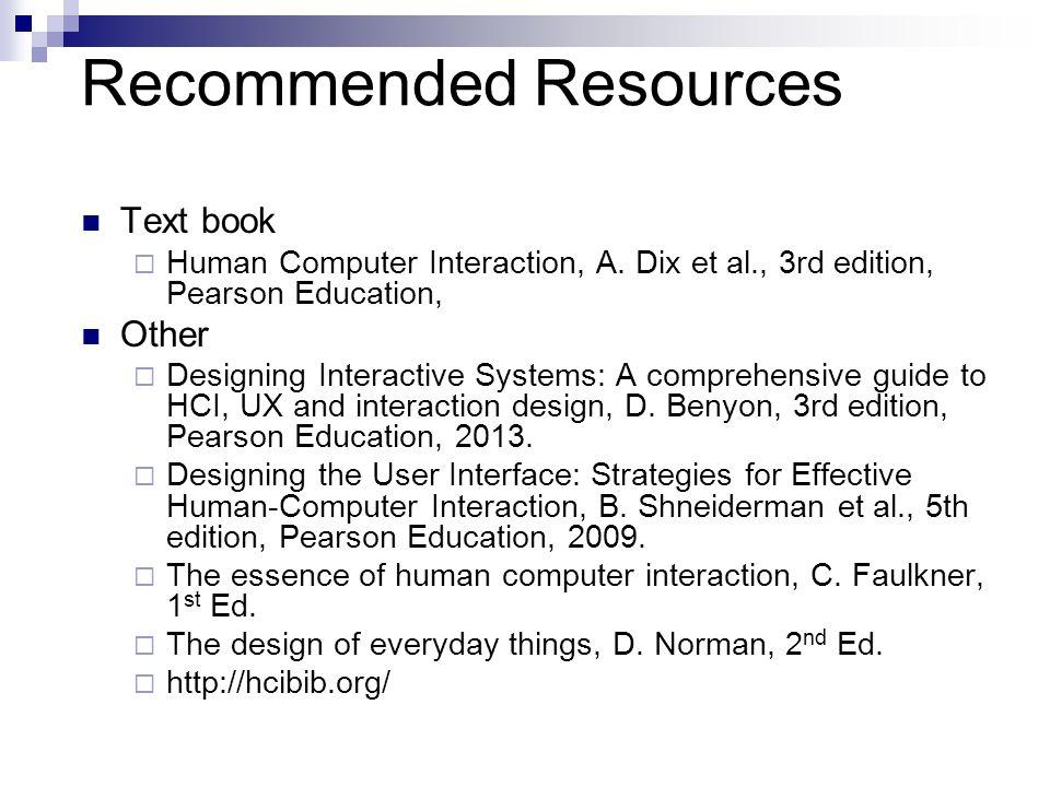 Human Computer Interaction Lecture 1 Professor Dr Sajjad Mohsin Ppt Download