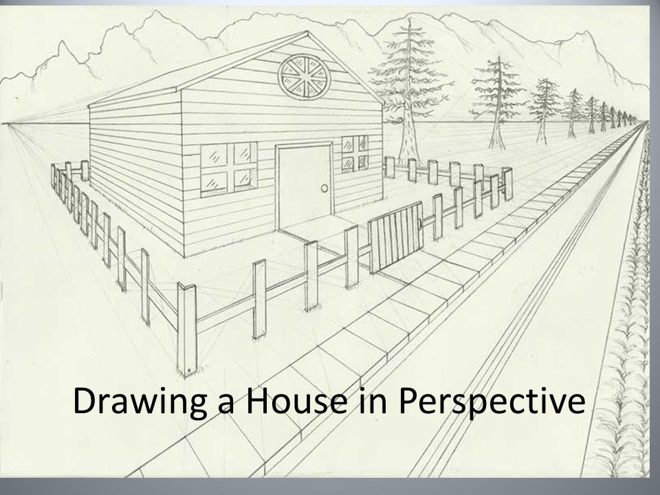 Drawing A House In Perspective Examples Of Our Next Project Inside These Walls Pastel Paintings Of Buildings In A Landscape Things We Will Ppt Download