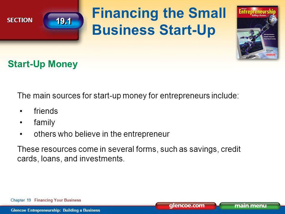 Financing Your Business Glencoe Entrepreneurship: Building a ...