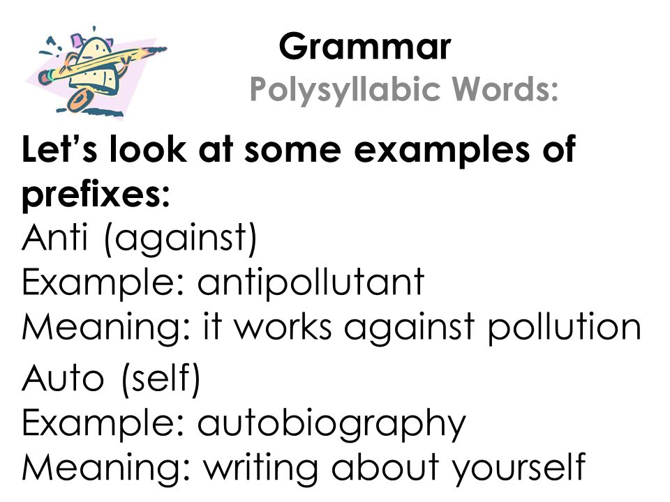 Grammar Welcome to Lesson #24 Today you will learn: 1  What