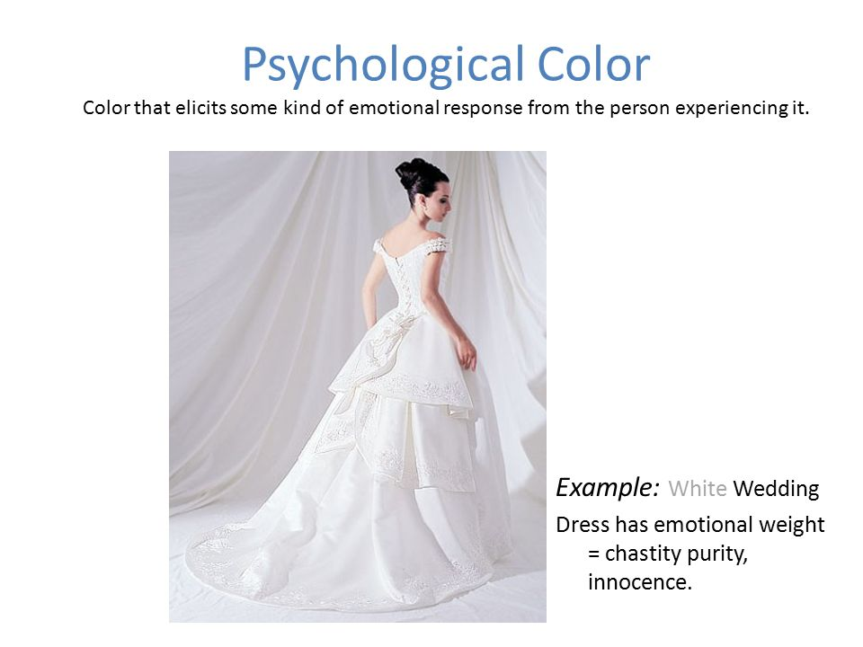 Example White Wedding Dress Has Emotional Weight Chastity Purity Innocence