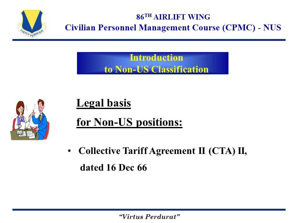 "Virtus Perdurat"" 86 TH AIRLIFT WING Civilian Personnel Management ..."