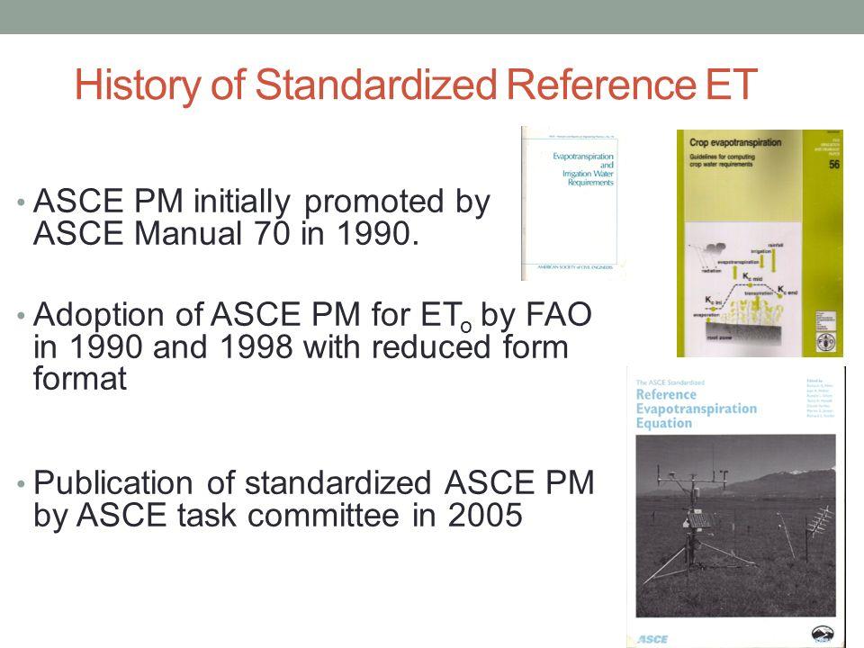 standardized reference evapotranspiration acknowlegements luis rh slideplayer com ASCE Construction Manual 2016 ASCE Wind Loads