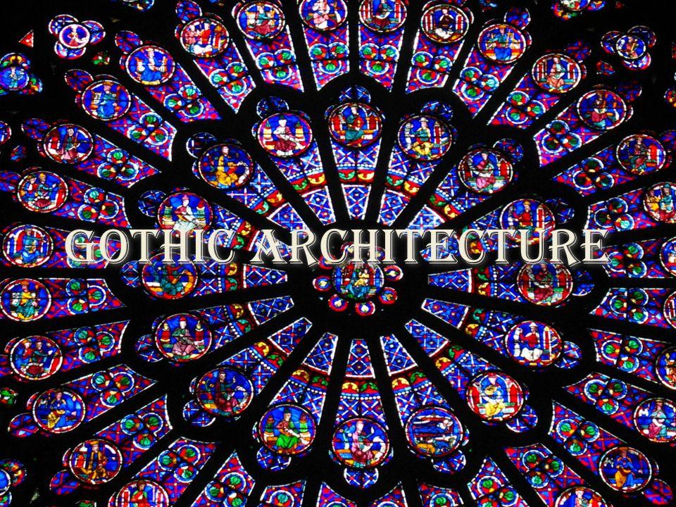 Gothic Architecture In The Period Began Around