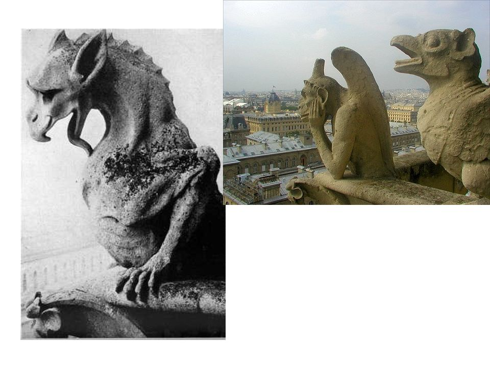 The Word Gargoyle Shares A Common Root With The Word Gargle