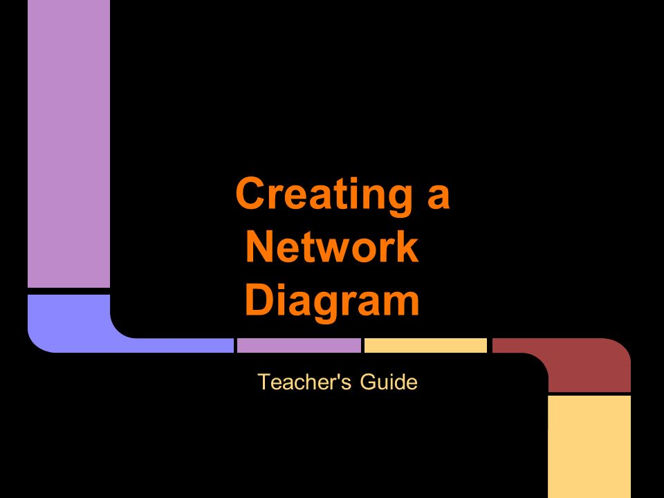 Creating a network diagram teachers guide why use google draw it 1 creating a network ccuart Image collections