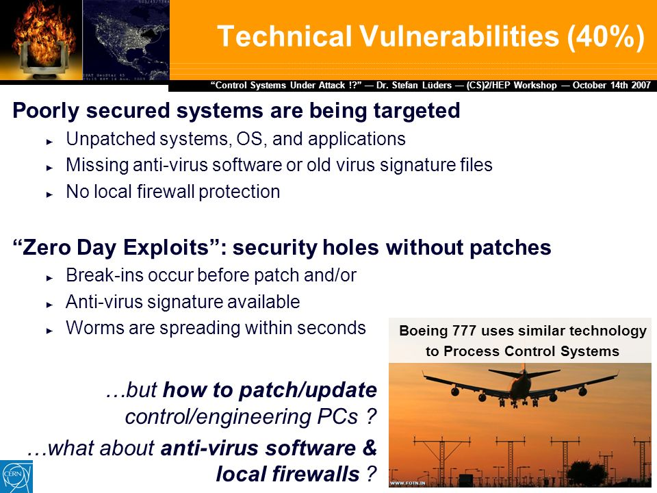 Control Systems Under Attack !? …about the Cyber-Security of