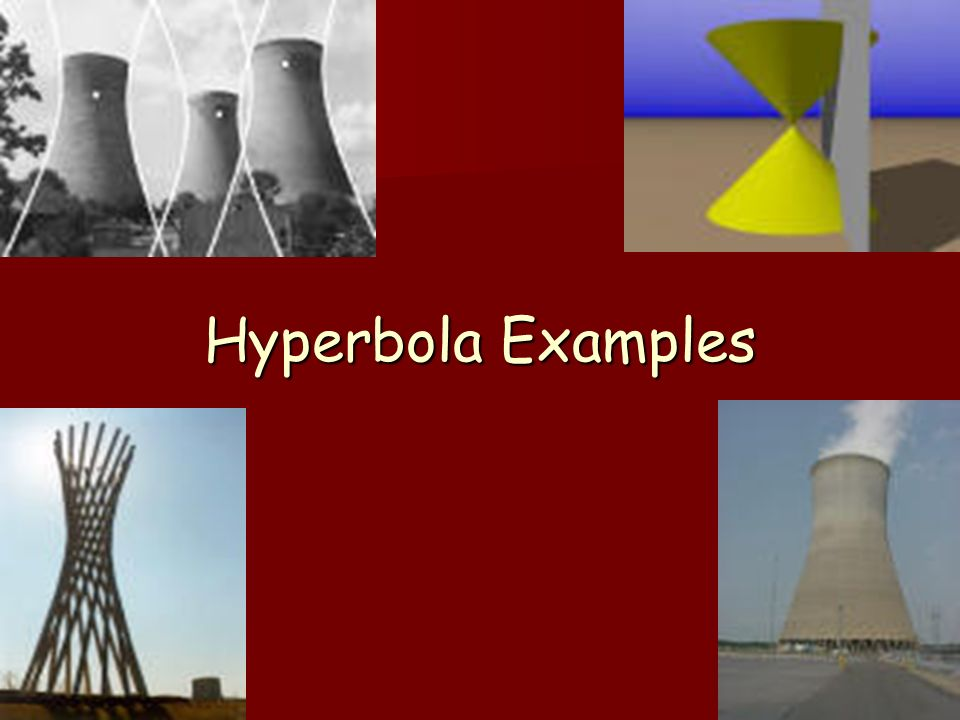 Hyperbola Examples