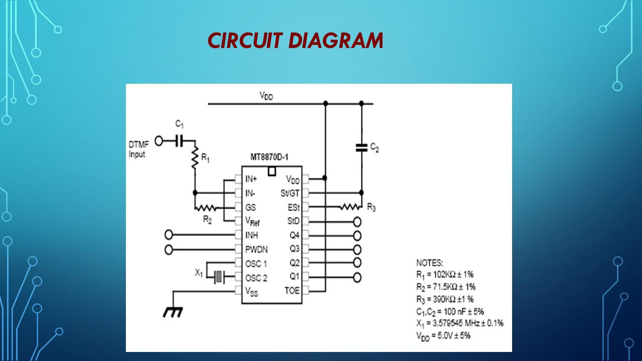 Dtmf Based Mobile Controlled Robot Project Review Team 1 Srisruthis Home Automation With Circuit Diagram 6