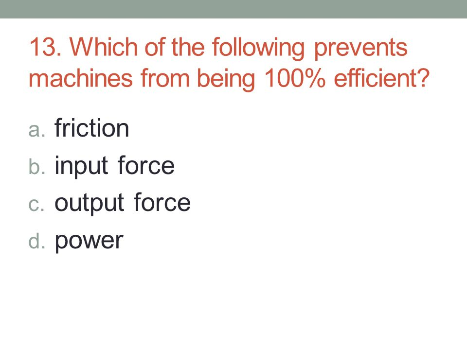 Chapter 4 Sections 1 2 Work Power And Machines Ppt Download