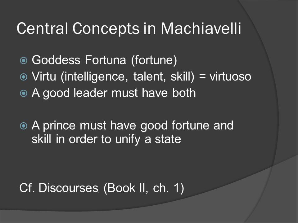 fortuna machiavelli
