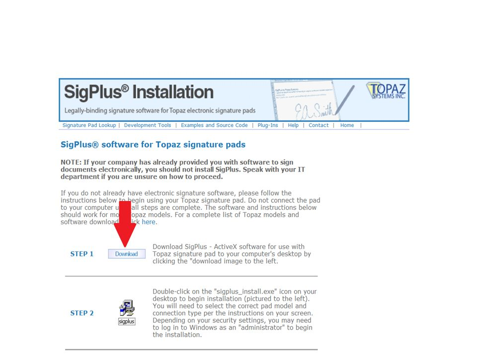Topaz Signature Pad Not Working In Chrome