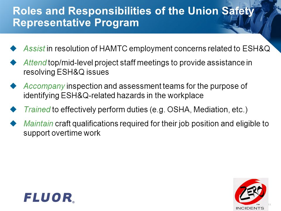 VPP Employee Partnership In Safety VPP Worker Involvement