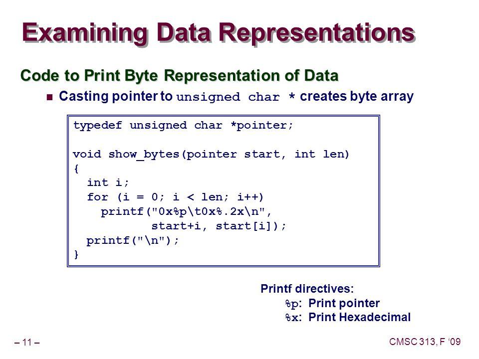 Bits and Bytes Topics Representing information as bits Bit