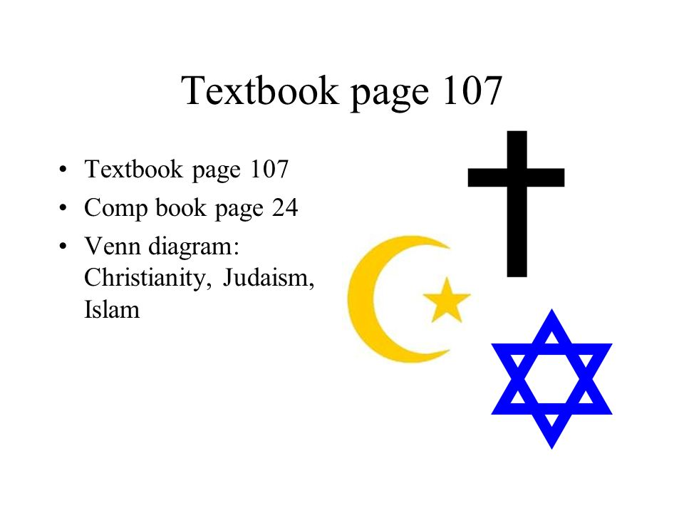 Bellwork September 25 Th Which Religion Is Represented By These
