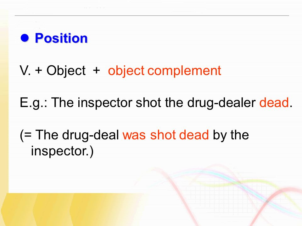 Unit 3 Grammar And Usage Object Complement Either Or And