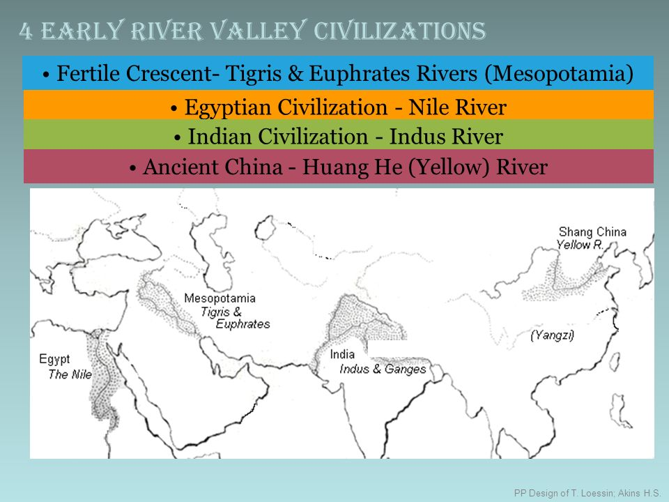 compare and contrast early river valley civilizations Comparison and contrast of mesopotamia  such as characteristics of early civilizations and  these three river valley civilizations had many differences yet.