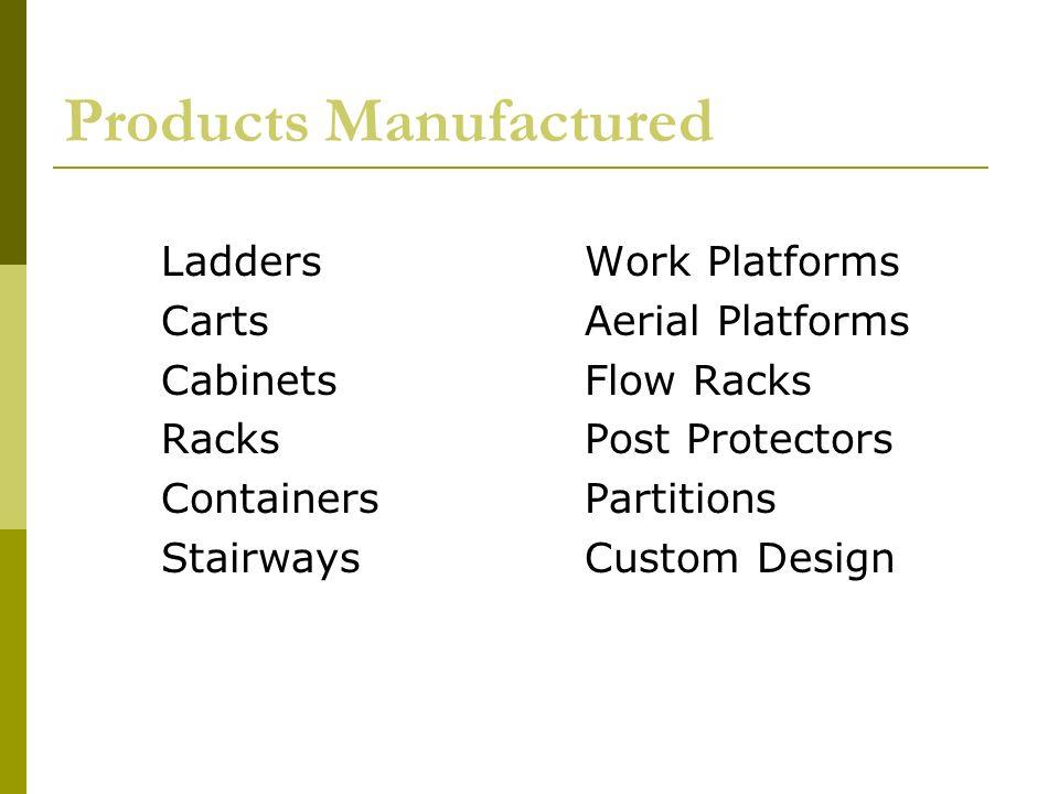 Marketing Definition  EGA is a designer and manufacturer of