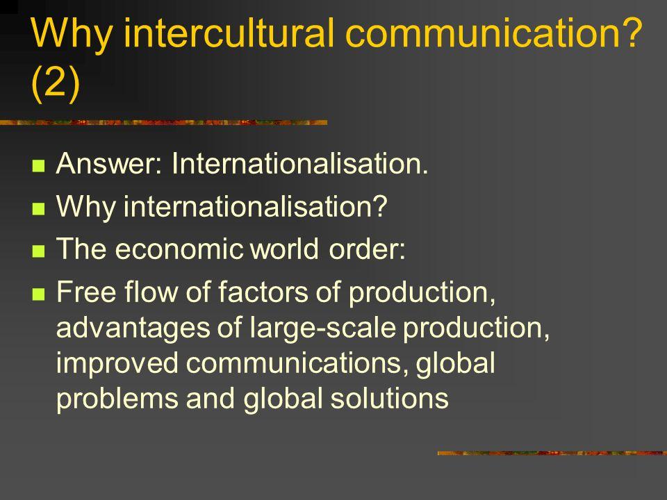advantages intercultural communication