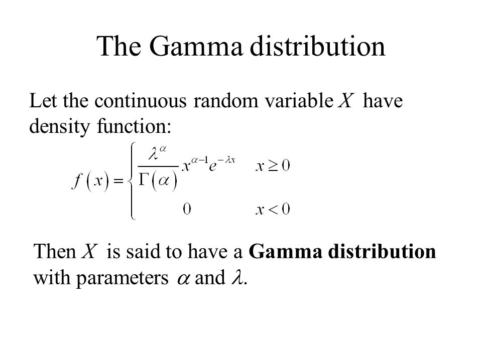 Continuous Distributions The Uniform distribution from a to