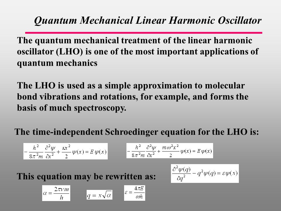 Ch 9 pages Lecture 22 – Harmonic oscillator  - ppt download