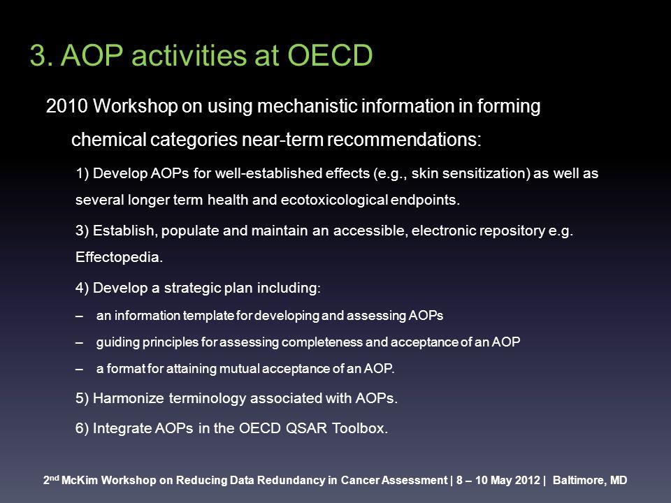 2 n McKim Workshop on Reducing Data Redundancy in Cancer