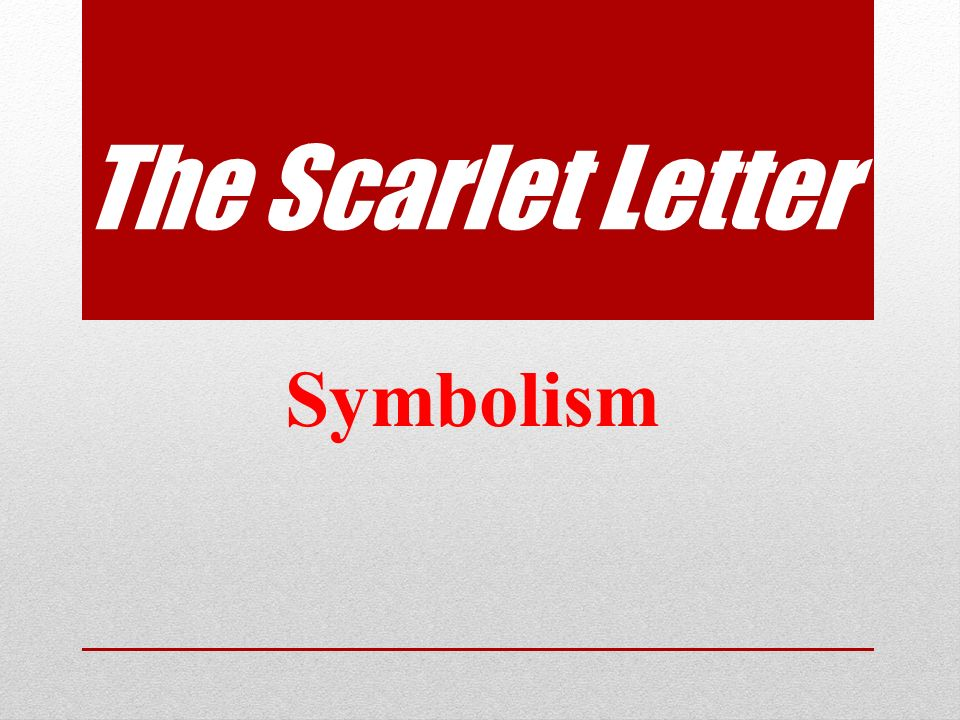 The Scarlet Letter Symbolism Letter A Nearly 150 direct or