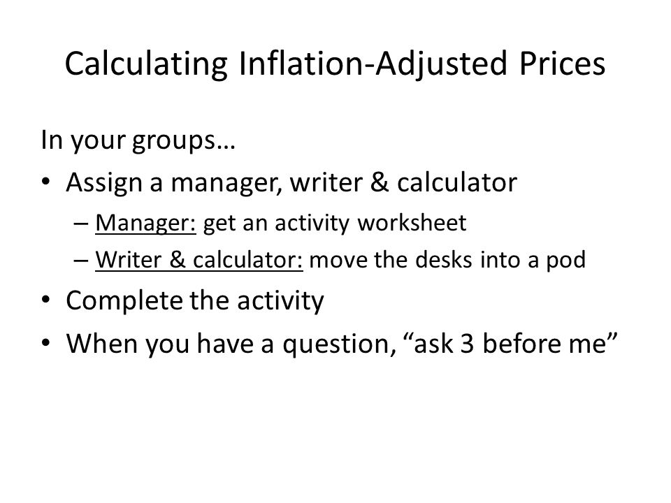 Unit 4 Ine Consumer Price Index Inflation Definition The. Worksheet. Inflation Worksheet Questions At Clickcart.co