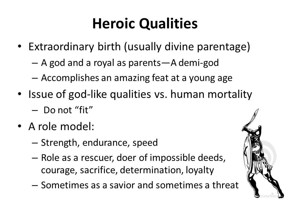 what makes an epic hero