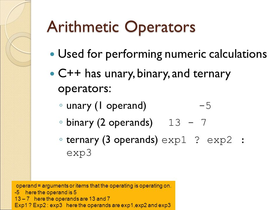 Introduction to C The Parts of a C++ Program –Anatomy of a