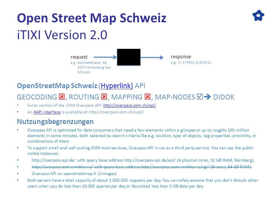 ITIXI Version 2 0 The Google Maps Alternatives Open Street Map (OSM
