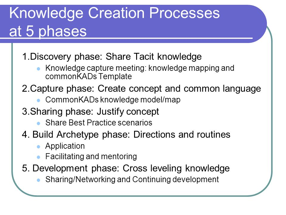 Tacit knowledge as a promoter of project success Presented by Poj ...
