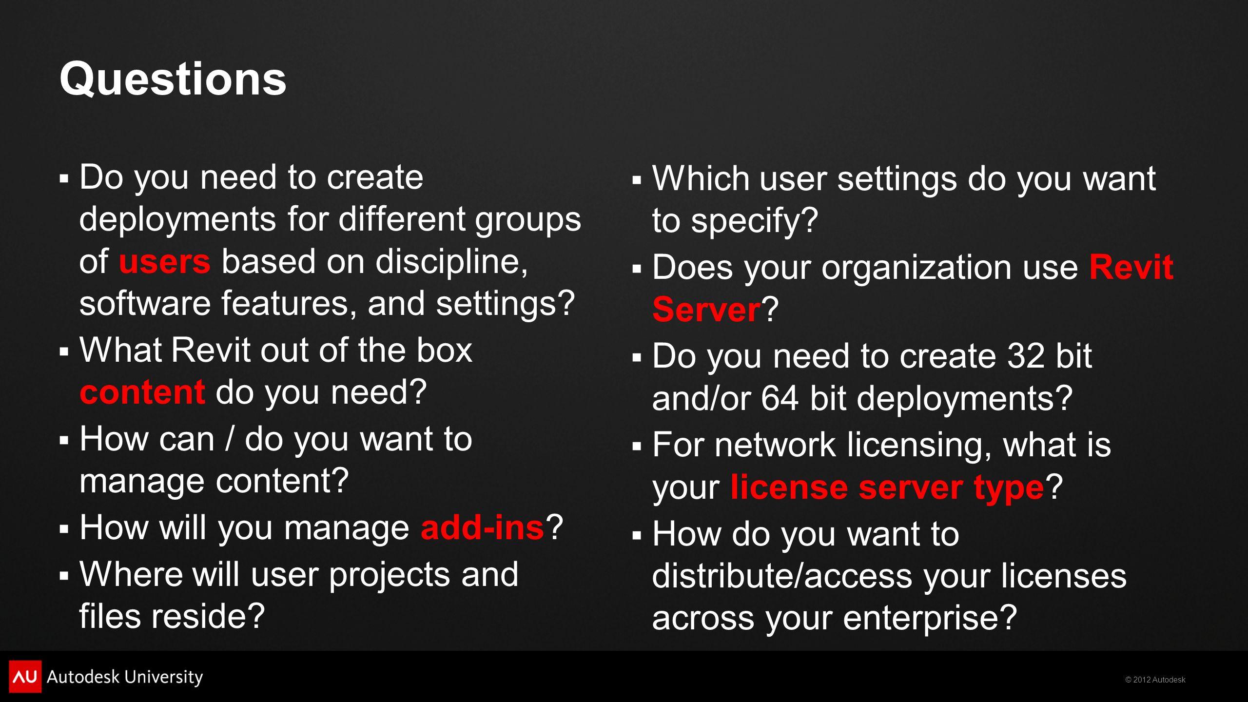 2012 Autodesk The Enterprise Guide to Autodesk Revit Harlan