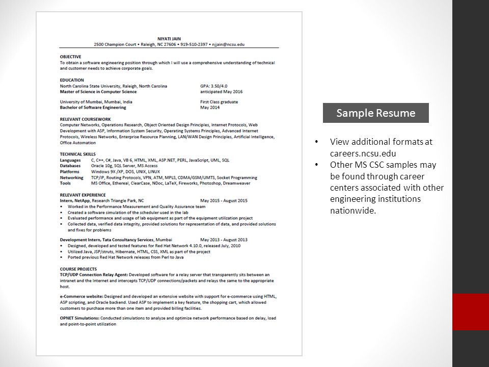 resumes m s in computer science beverly marchi assistant director