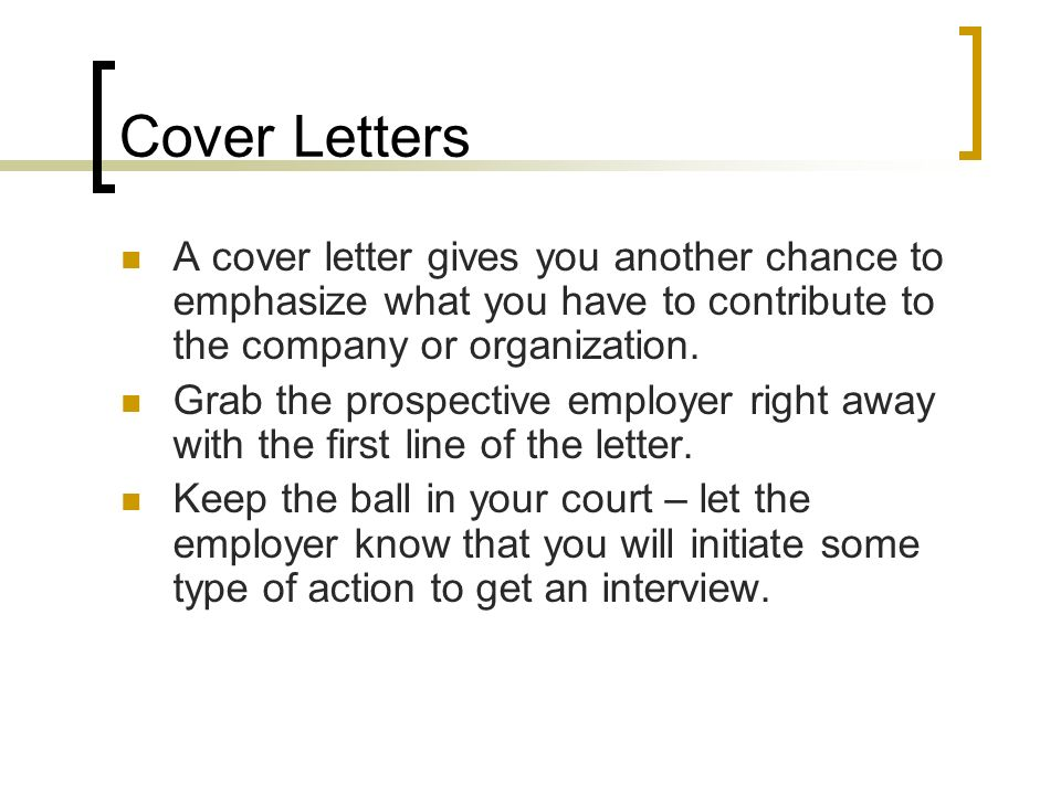 2 cover - Cover Letter Attention To