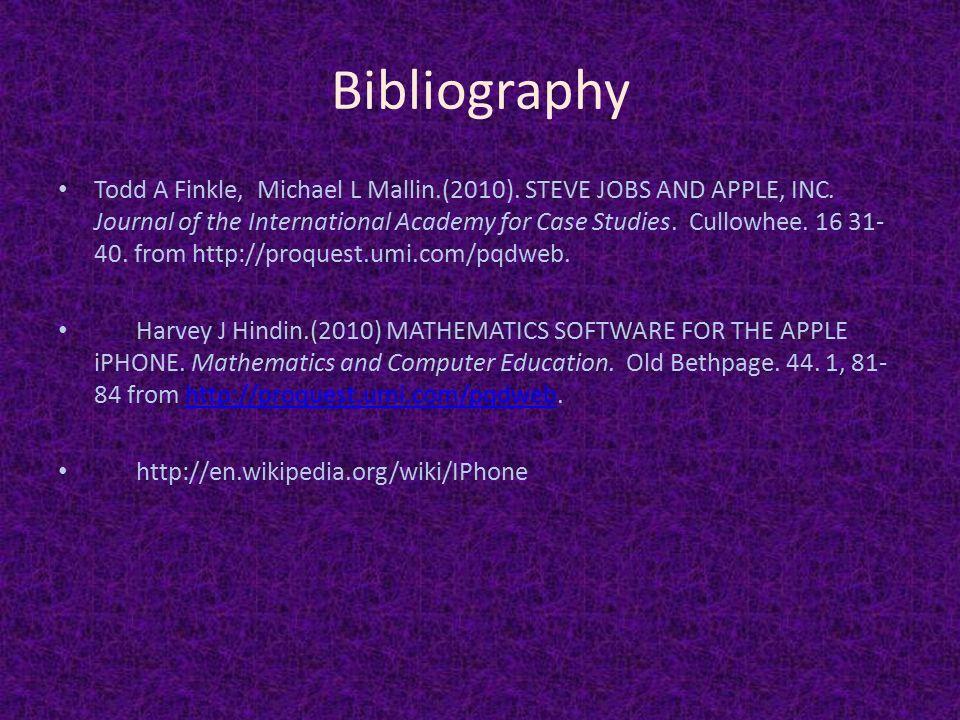 apple inc in 2010 case study