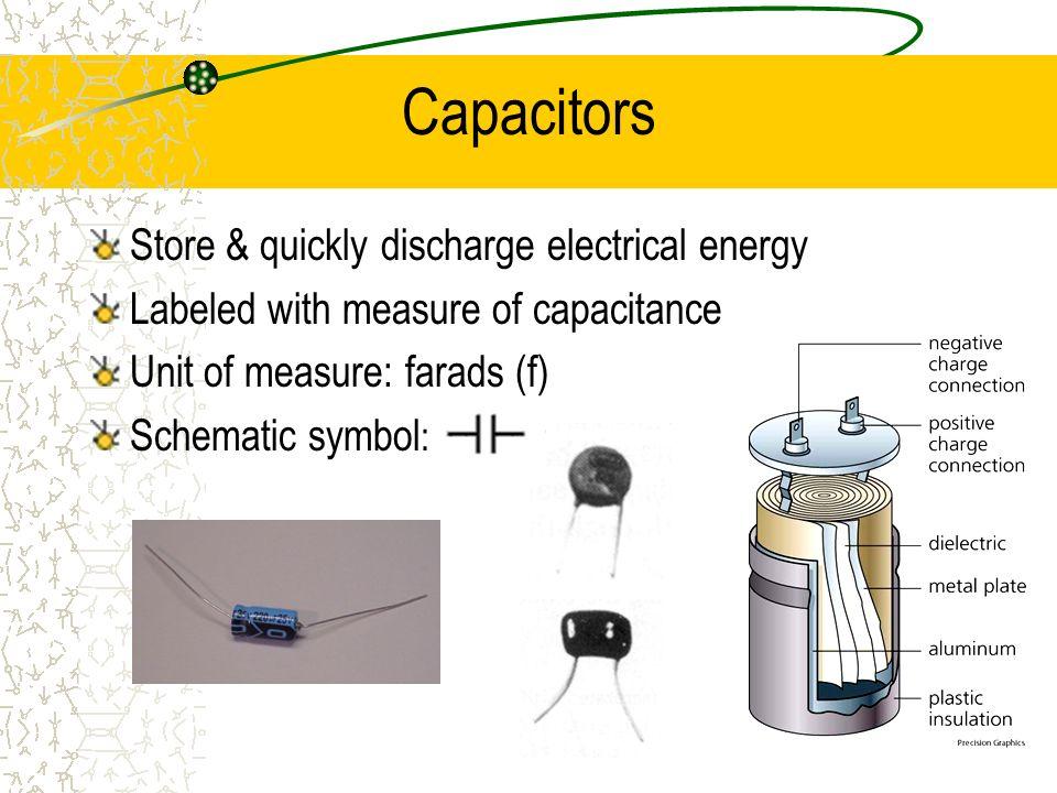 Component Identification Schematic Symbols Electronics 1 Cvhs