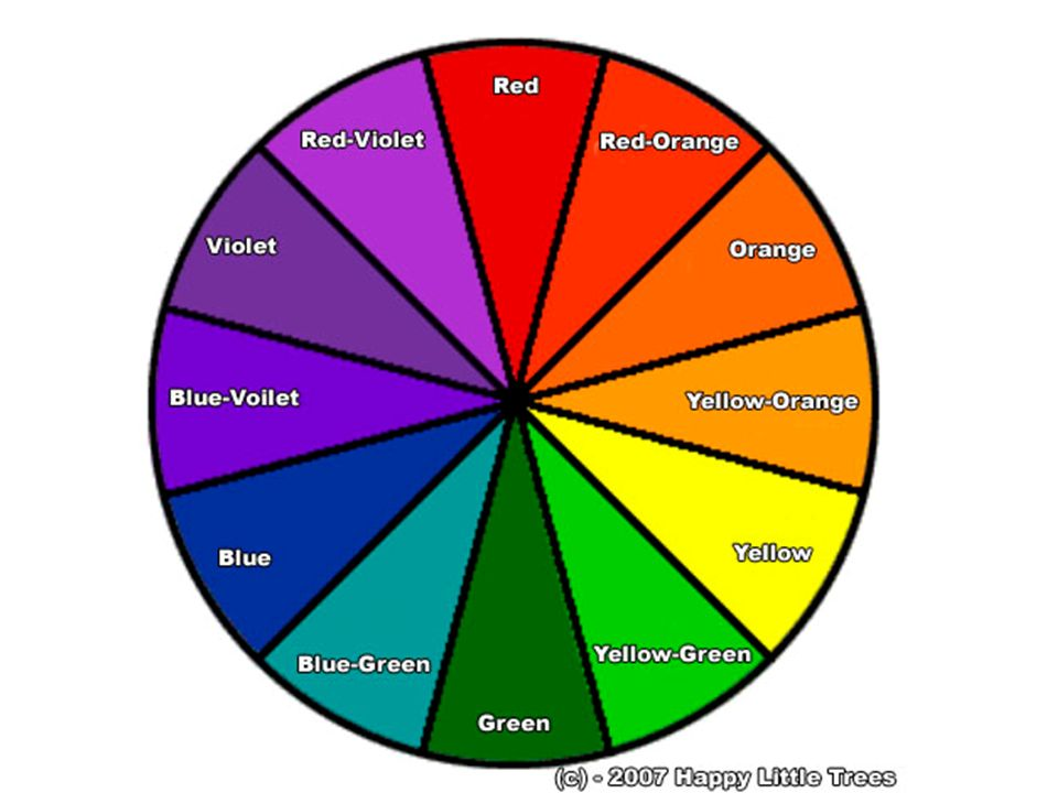 Decorating With Color Color Wheel There Are 12 Colors In The Color
