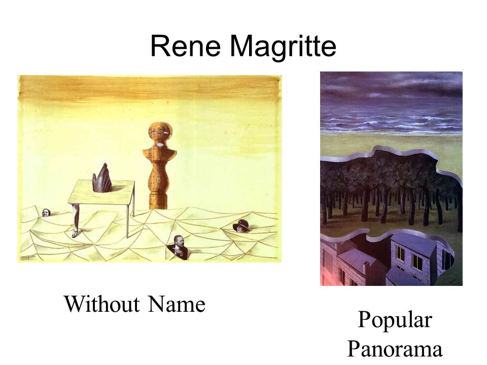Rene Magritte Without Name Popular Panorama
