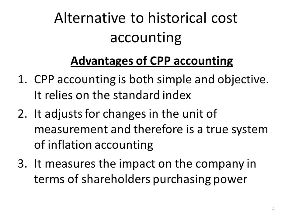 historical cost accounting convention Historical cost shows the asset in the sofp at the original cost less accumulate depreciation if prices have been increasing, then the current cost of the asset would be higher, and so historical cost is understating the value.
