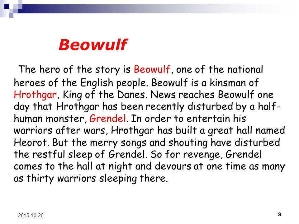 beowulf story pdf