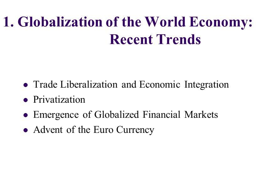 globalization presentation topics