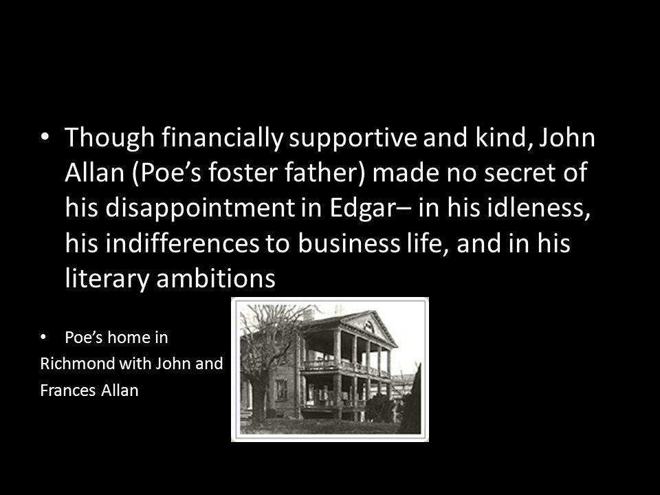 Edgar Allan Poe Foster Parents