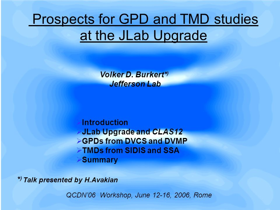 Prospects for GPD and TMD studies at the JLab Upgrade Volker D.